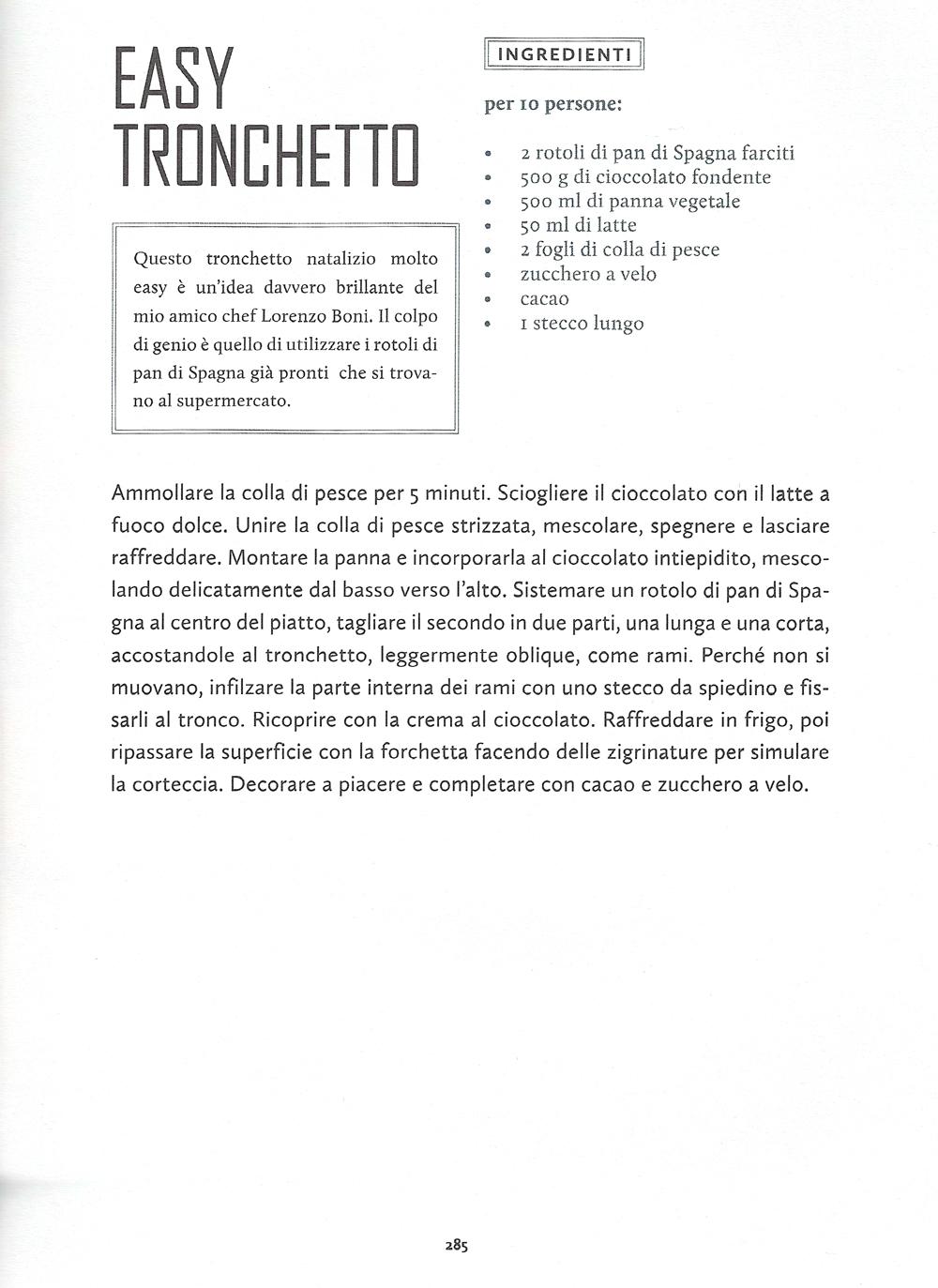 Tronchetto Di Natale Parodi.Easy Tronchetto Lorenzo Boni Chef