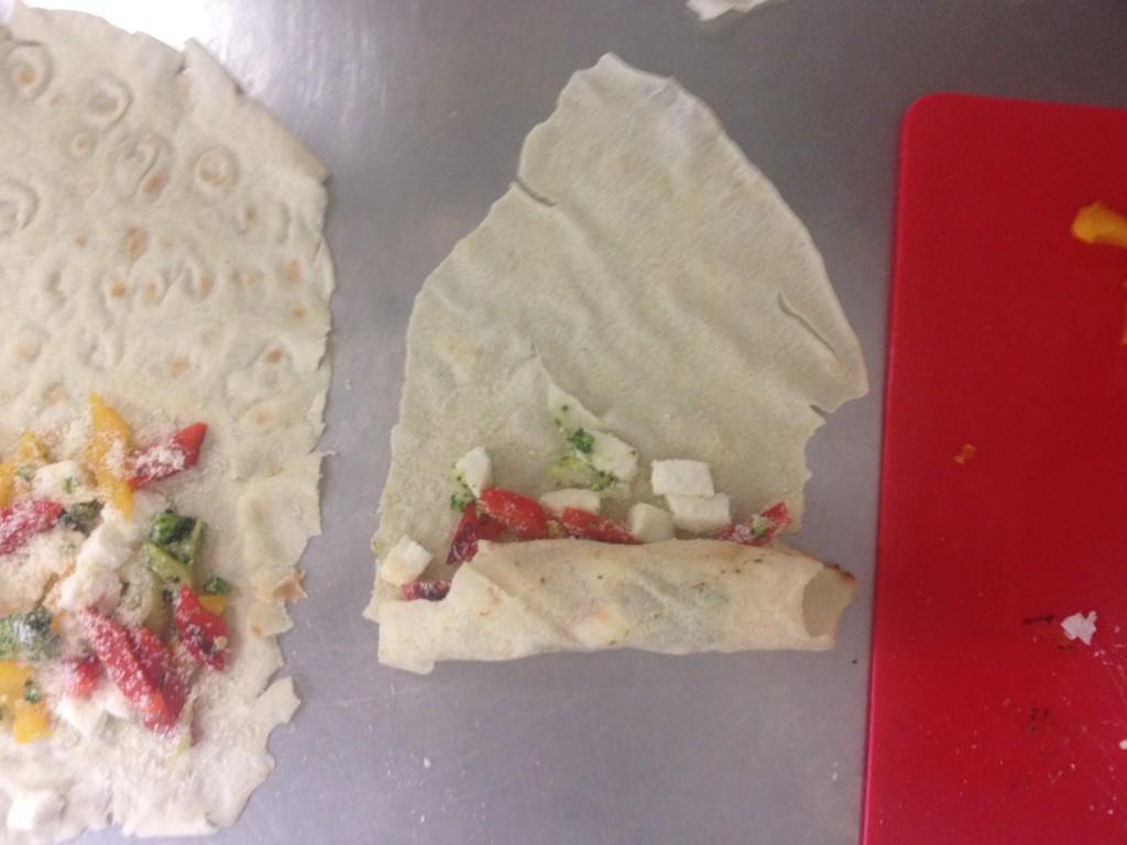 Cannelloni di pane carasau con verdure e primo sale 2
