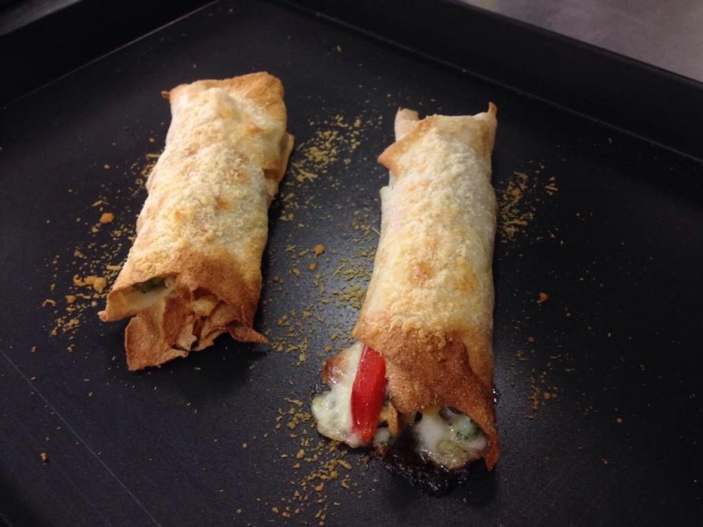 Cannelloni di pane carasau con verdure e primo sale 4