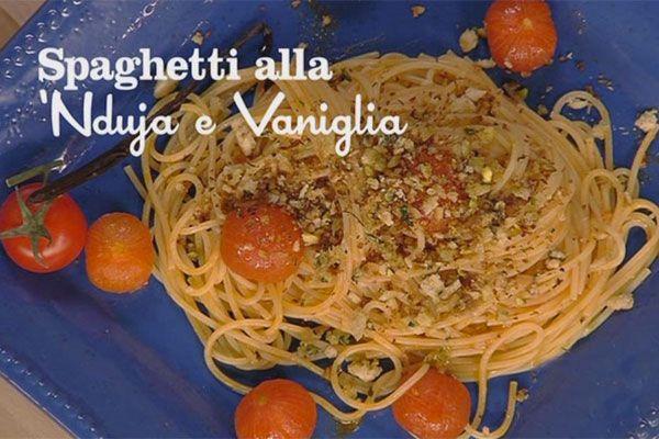 Spaghetti alla nduja con pomodorini alla vaniglia 1