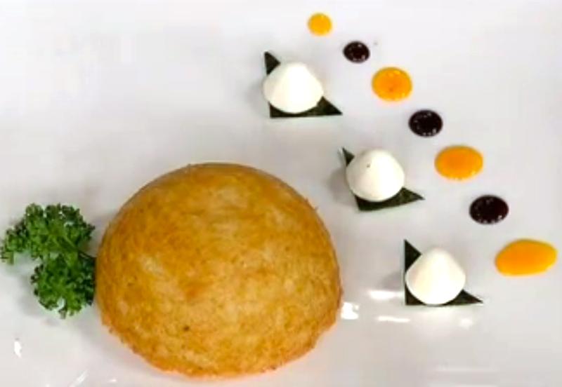Bomba di riso con ragù di quaglia