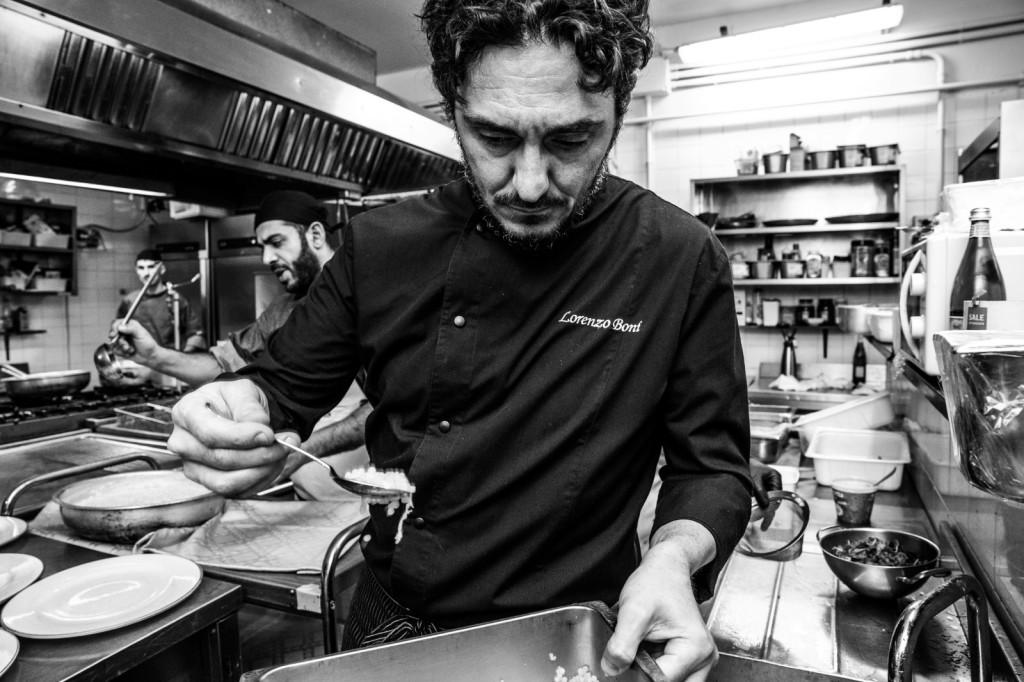 Lorenzo Boni cena a 4 mani3